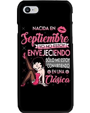 Camisetas sublimadas mujer clásica Septiembre Phone Case thumbnail
