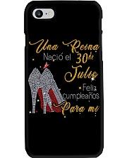 30 Julio Phone Case thumbnail