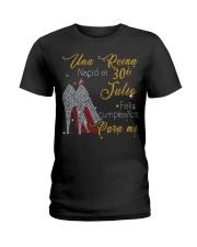 30 Julio Ladies T-Shirt front