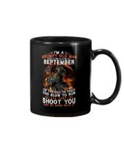 H - Grumpy old man September tee Cool Tshirts Men Mug thumbnail