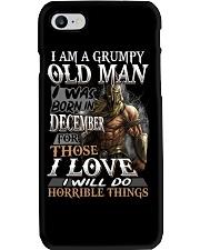 GRUMPY OLD MAN DECEMBER Phone Case thumbnail