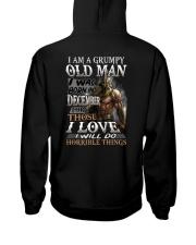 GRUMPY OLD MAN DECEMBER Hooded Sweatshirt thumbnail