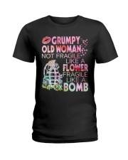 GRUMPY OLD WOMAN Ladies T-Shirt front