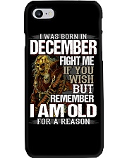 DECEMBER MAN Phone Case thumbnail