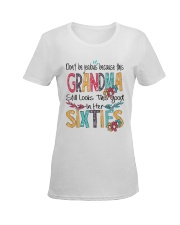 GRANDMA SIXTIES Ladies T-Shirt women-premium-crewneck-shirt-front