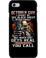 H - OCTOBER GUY Phone Case thumbnail
