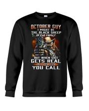 H - OCTOBER GUY Crewneck Sweatshirt thumbnail