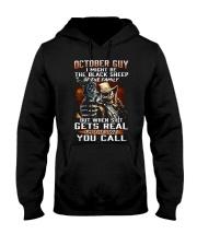 H - OCTOBER GUY Hooded Sweatshirt thumbnail