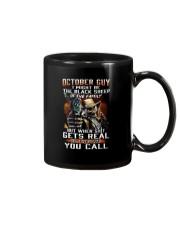 H - OCTOBER GUY Mug thumbnail