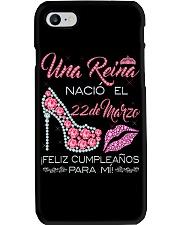 22 DE MARZO Phone Case thumbnail