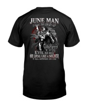 JUNE MAN  Classic T-Shirt back