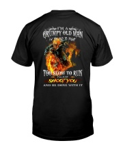 GRUMPY OLD MAN  Classic T-Shirt back