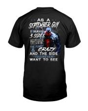 SEPTEMBER MAN-D Classic T-Shirt back