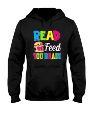 Great Shirt for book loves Hooded Sweatshirt tile