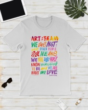 Art Teacher  Classic T-Shirt lifestyle-mens-crewneck-front-17