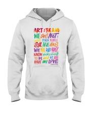 Art Teacher  Hooded Sweatshirt thumbnail