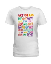 Art Teacher  Ladies T-Shirt thumbnail