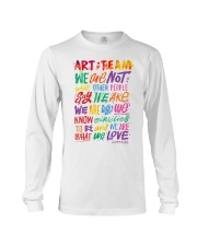 Art Teacher  Long Sleeve Tee thumbnail