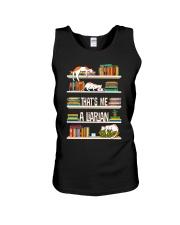 I am a Librarian Unisex Tank thumbnail
