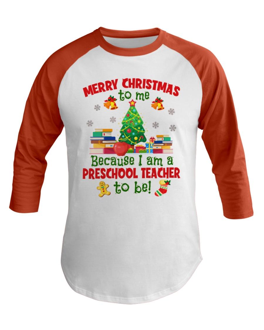 Preschool Teacher Baseball Tee