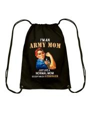 Army Mom Drawstring Bag thumbnail