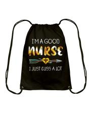 I'm a good Nurse Drawstring Bag thumbnail