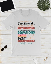 Math Teacher Classic T-Shirt lifestyle-mens-crewneck-front-17