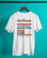Math Teacher Classic T-Shirt lifestyle-mens-crewneck-front-3