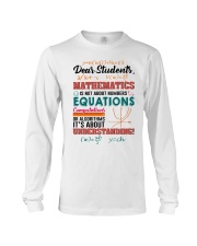 Math Teacher Long Sleeve Tee tile