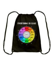 Great Shirt for Music Teachers Drawstring Bag thumbnail