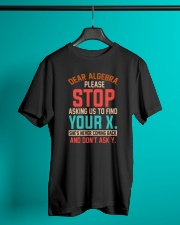 Great Shirt for Math Lovers Classic T-Shirt lifestyle-mens-crewneck-front-3