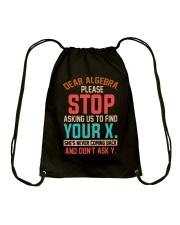Great Shirt for Math Lovers Drawstring Bag thumbnail