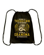 Trucker's Mom Drawstring Bag thumbnail