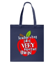 Teacher is bag Tote Bag front