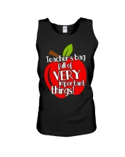 Teacher is bag Unisex Tank thumbnail