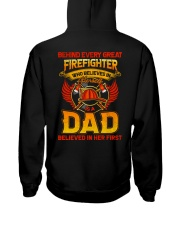 Behind Every Great Firefighter2 Hooded Sweatshirt thumbnail