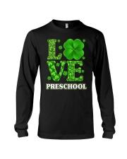 Great Shirt for Preschool Teachers Long Sleeve Tee thumbnail