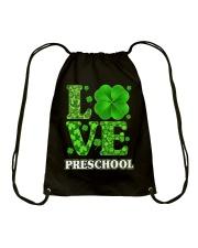 Great Shirt for Preschool Teachers Drawstring Bag thumbnail