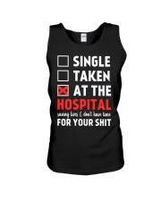 Single taken at the hospital Unisex Tank thumbnail