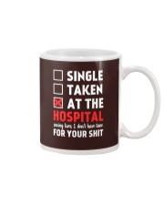 Single taken at the hospital Mug thumbnail