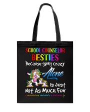 Great Shirt for School Counsellors Tote Bag thumbnail