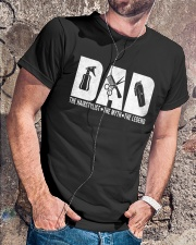 Perfect Gift for Father's Day Classic T-Shirt lifestyle-mens-crewneck-front-4