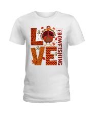 Bow Fishing Ladies T-Shirt thumbnail