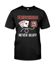 Firefighters Classic T-Shirt front