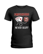 Firefighters Ladies T-Shirt thumbnail