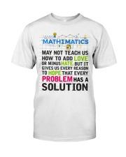 Math Classic T-Shirt thumbnail
