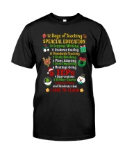 SPED Classic T-Shirt front