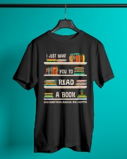 Read a Book Classic T-Shirt lifestyle-mens-crewneck-front-3