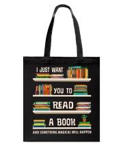 Read a Book Tote Bag thumbnail