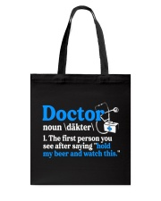 Great Doctors Tote Bag thumbnail